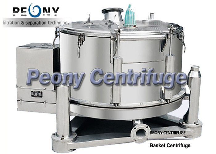 Adjustable Pharmaceutical Centrifuge PPBL For Chemical / Extraction Machines