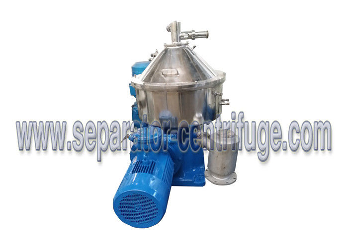 Disk Stack Centrifuge For Vegetable Oil Three-phase Oil Separator